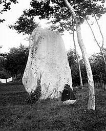 Menhir dit l'Affiloir de Gargantua
