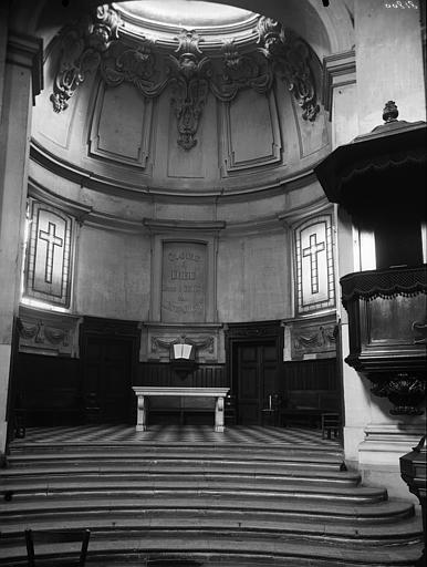 Temple du Marais ou temple Sainte-Marie (ancienne chapelle du couvent des filles de la Visitation dite église de la Visitation)
