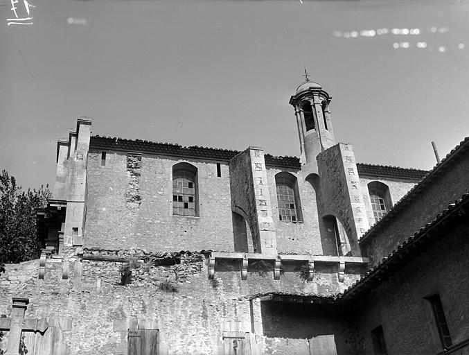 Chapelle, façade sud
