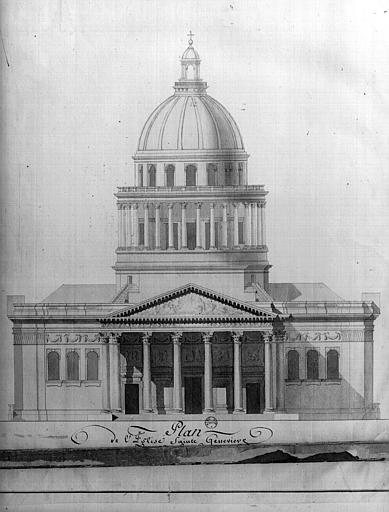 Ancienne église Sainte-Geneviève, devenue Le Panthéon