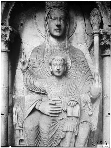 Vierge à l'Enfant, détail