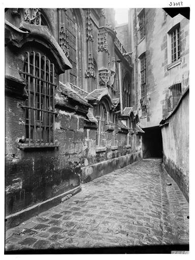 Cour Saint-Gervais Saint-Protais