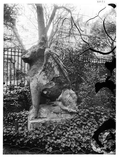 Sculpture : Le Boeuf de saint Luc