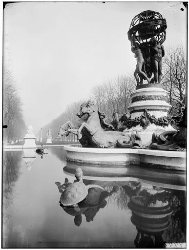 Fontaine de l'Observatoire, fontaine Carpeaux