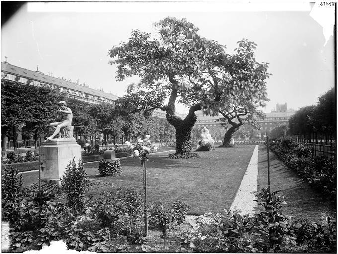 Vue des jardins