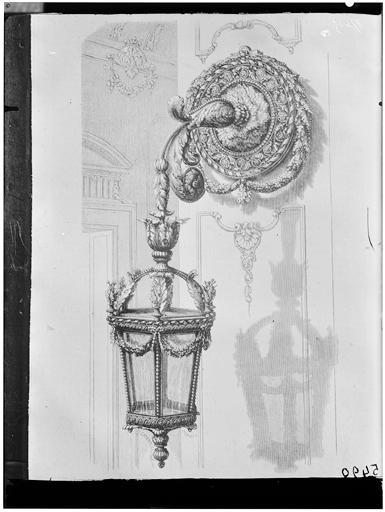 Dessin d'une lanterne