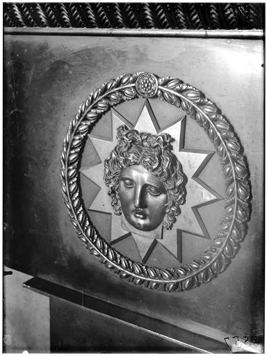 Musée du Louvre, salle Empire : Cheminée