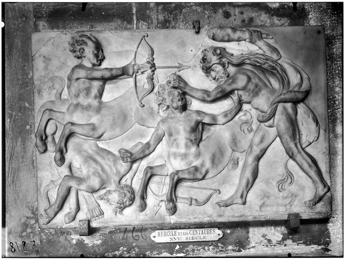 Hercule et les centaures