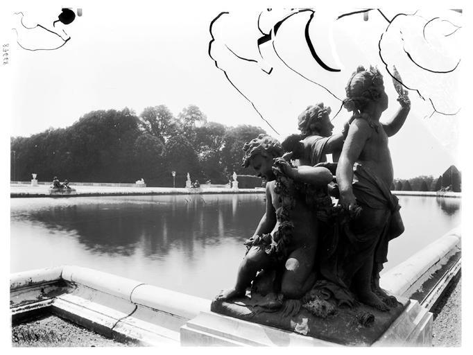 Parterre d'eau, bassin du Midi