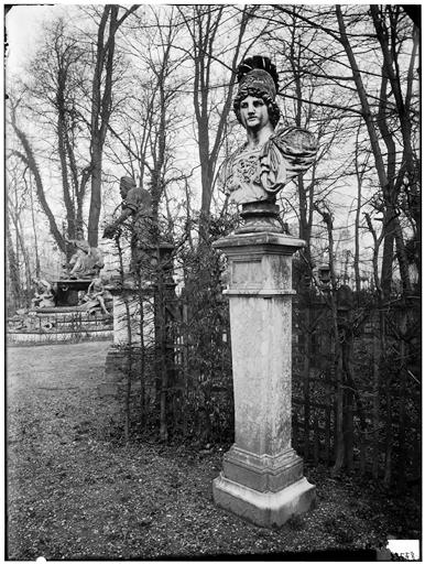 Bosquet de l'Arc de triomphe : buste