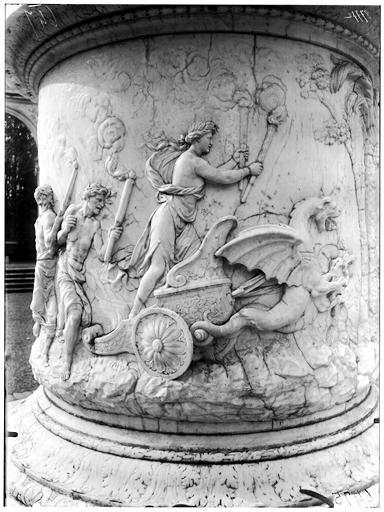 Bosquet de la Colonnade : Enlèvement de Proserpine