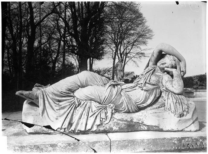Parterre du Midi : Ariane, statue