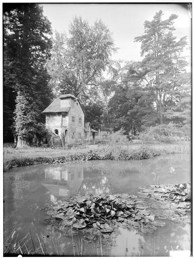 Vue générale et de l'étang