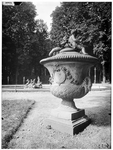 Amphithéâtre de verdure : vase