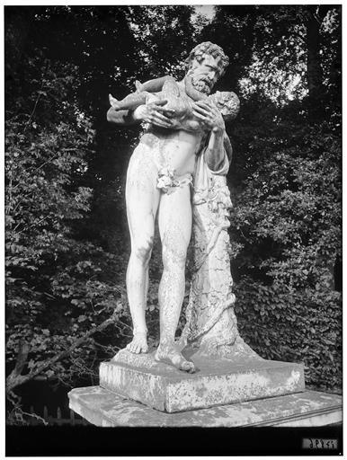 Silène et Bacchus enfant