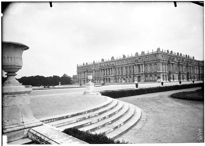 Parterre du Midi : façade sur jardin