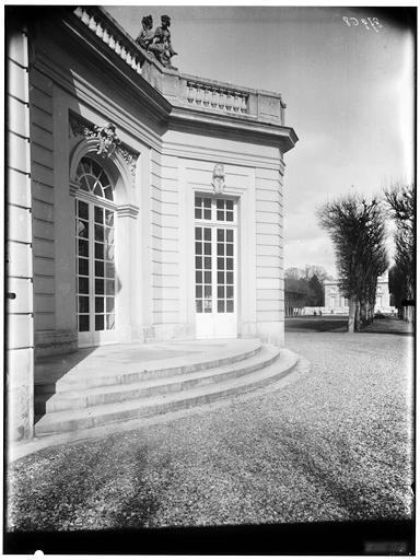 Pavillon français : façade