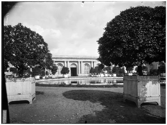 Orangerie : façade