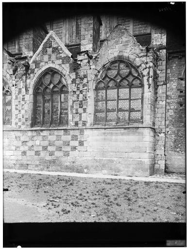 Extérieur, façade sud