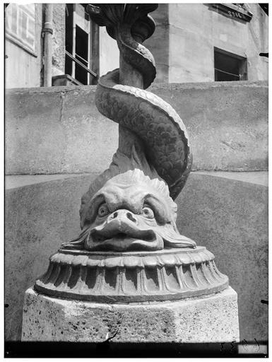 Vue générale de la fontaine