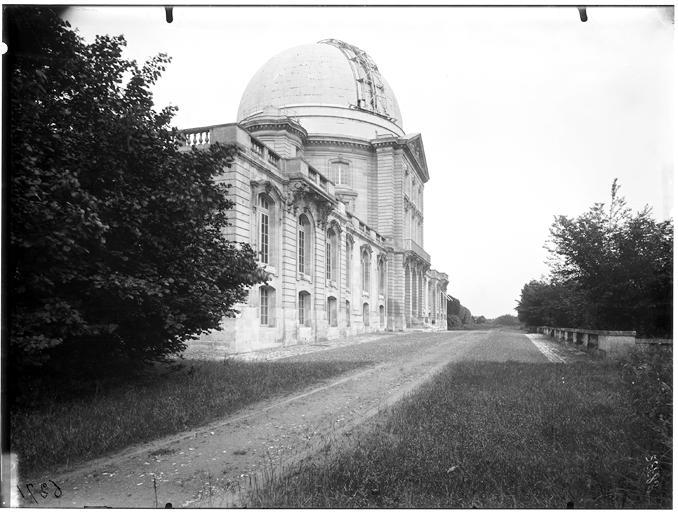 Vue de la coupole de l'observatoire