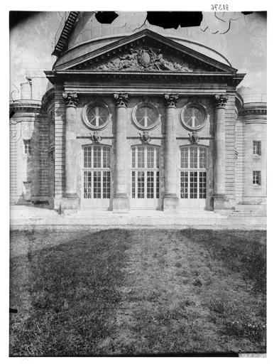 Façade de l'observatoire sur jardin