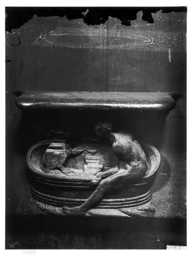Miséricorde de stalle : Le Bain partagé