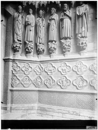 Porte Saint-Firmin, façade ouest : portail nord