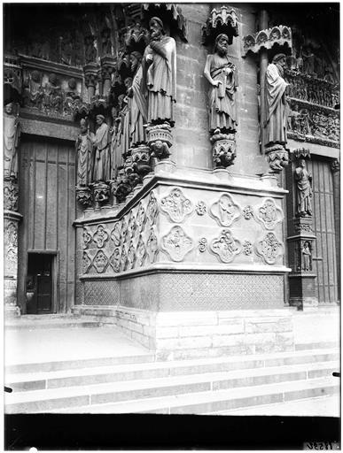 Porte Saint-Firmin : portail du Beau Dieu
