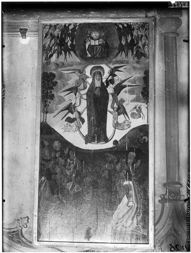 Vue intérieure, peinture murale