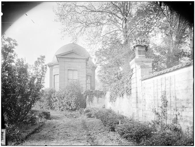 Pavillon de l'Aurore : vue de la coupole
