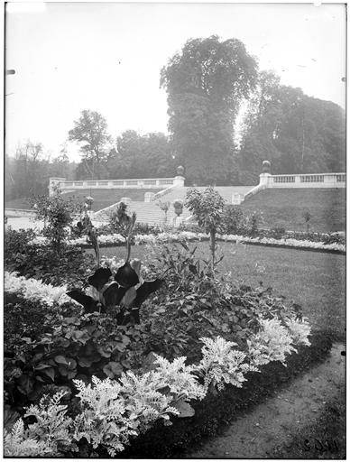 Parterre et terrasse