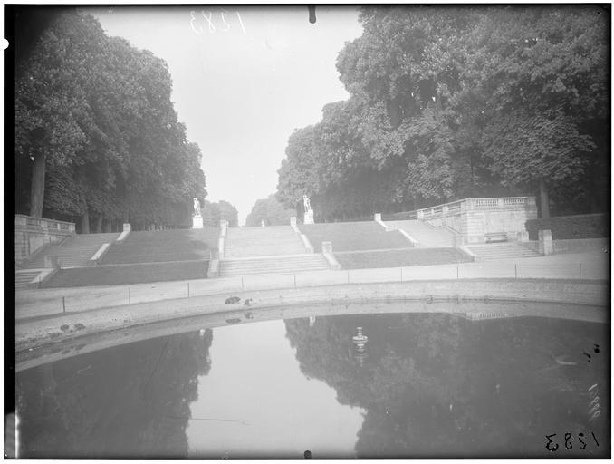 Vue du bassin de l'Orangerie