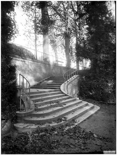 Escalier des goulottes