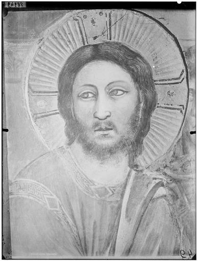 Jésus devant Caïphe, détail : tête