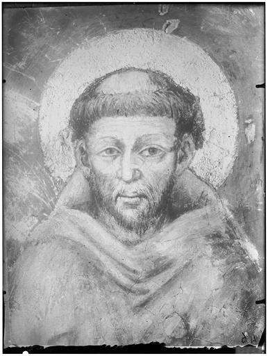 Peinture : portrait d'un saint homme