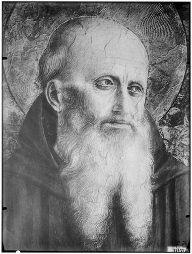 Portrait d'un saint homme