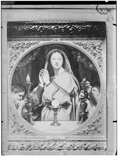 Peinture : La Vierge à l'Hostie