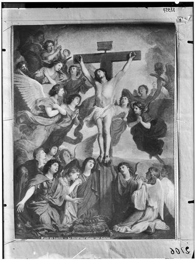 Peinture : Le Christ aux anges