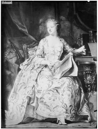 Pastel  : portrait de Mme de Pompadour