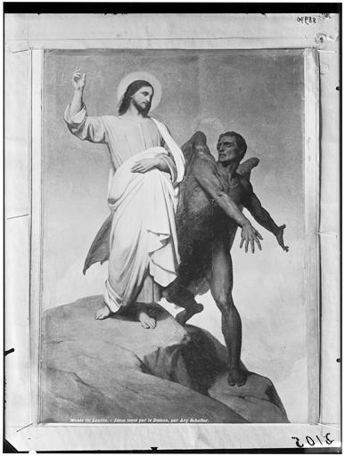 Le Christ tenté par le démon