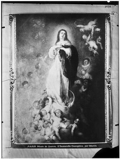 Peinture : L'Immaculée Conception