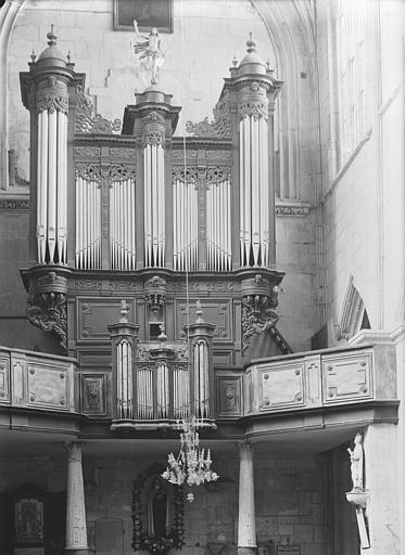 Tribune et buffet d'orgues