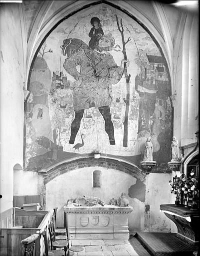 Tombeau, autel de Philippe du Moulin