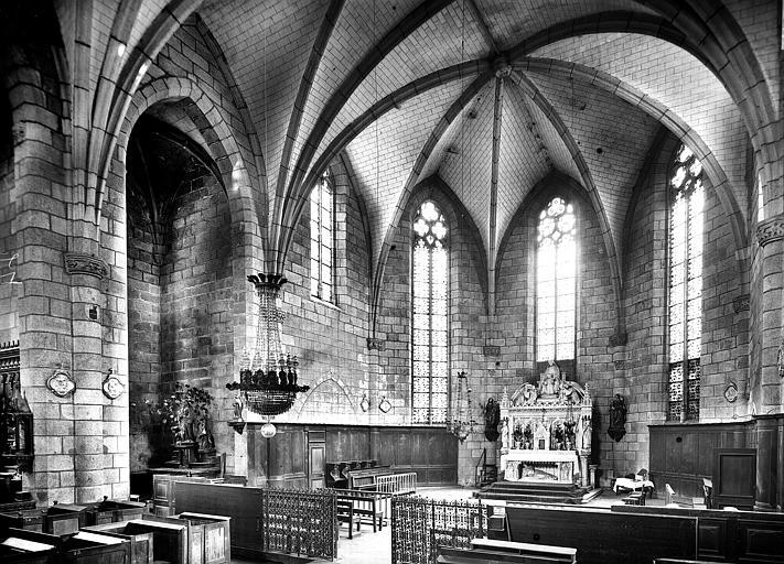 Chapelle : Vue intérieure du choeur
