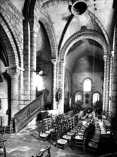 Vue intérieure du transept nord