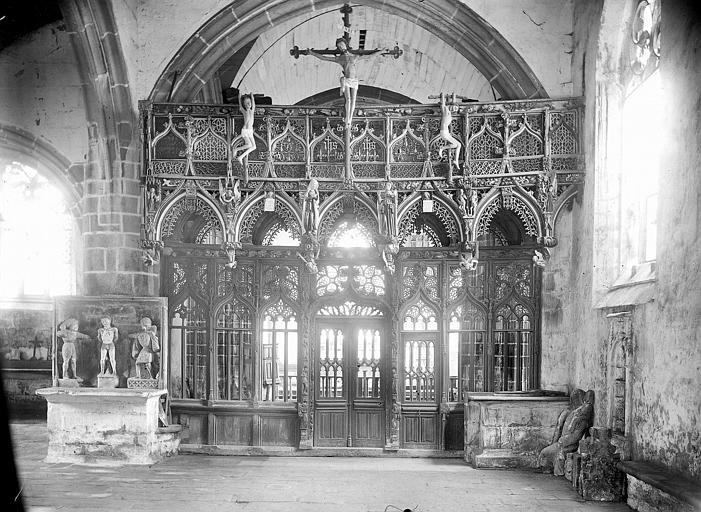 Chapelle saint-Fiacre (Le Faouët)