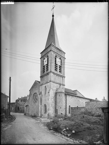 Eglise d'Hattonchâtel et son cloître