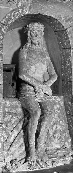Christ attendant le suplice