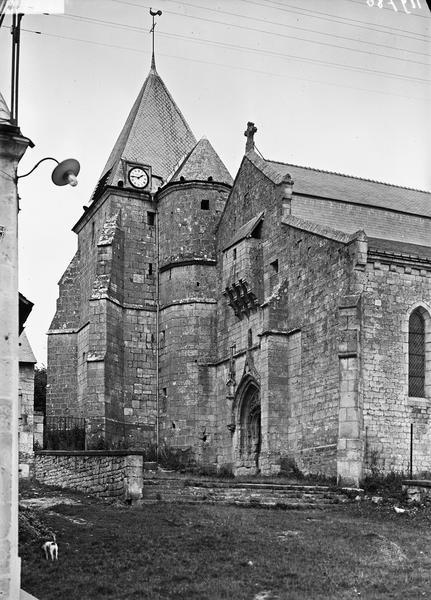 Portail et clocher